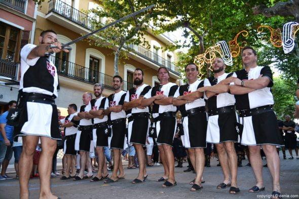 Entraeta Moros y Cristianos Fiestas Dénia 2016 - Filà Guerrers Hospitalaris