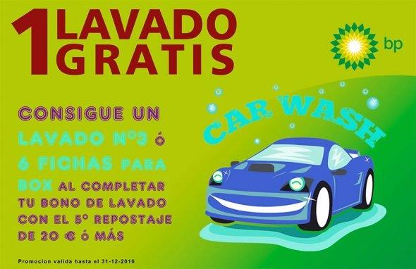Bono Lavado gratis Gasorba