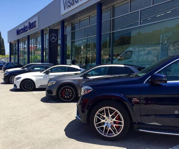 Caravana Dream Cars de Mercedes Benz en Visauto