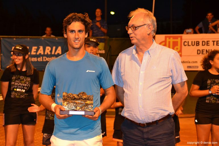 Carlos Taberner con Vicente Devesa