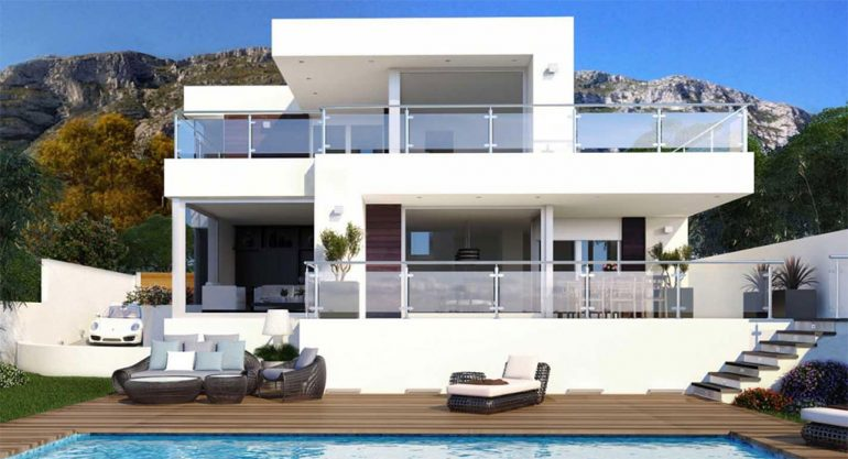 Conzeta presenta una vivienda moderna y actual de nueva Viviendas modernas de dos plantas