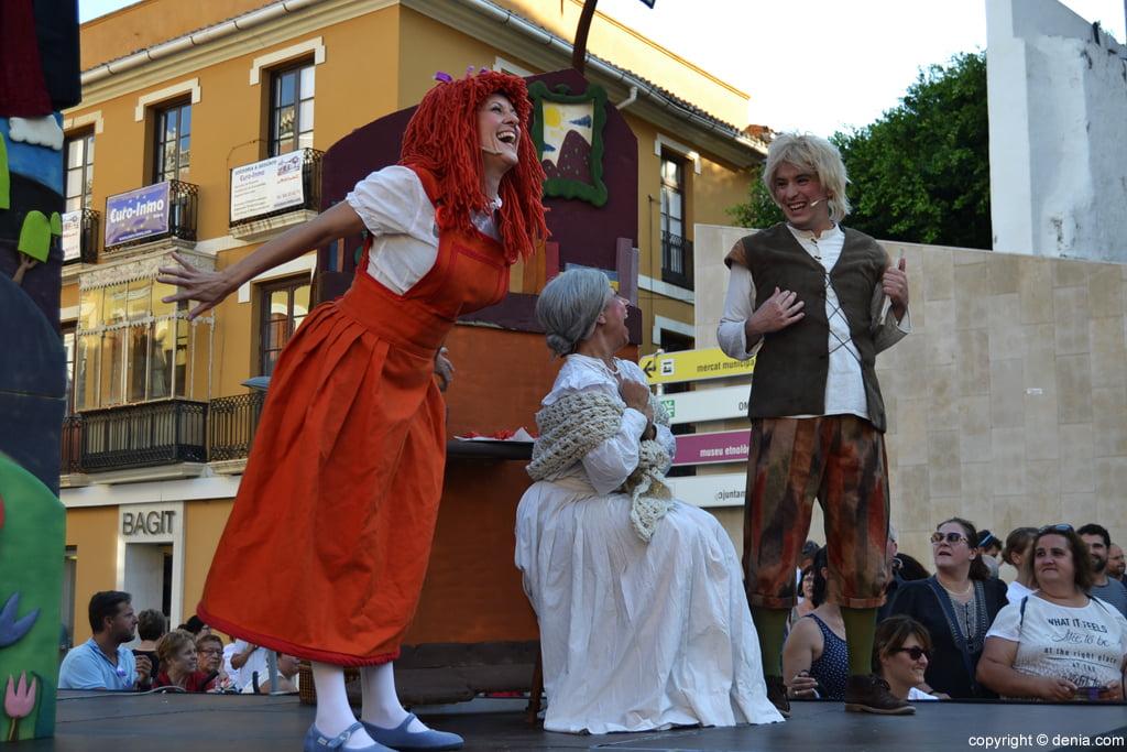 Hansel y Gretel en las fiestas de Dénia