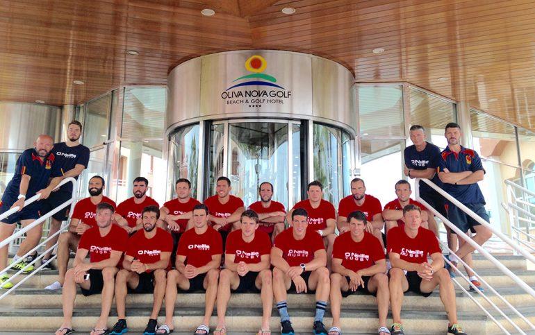 L'équipe espagnole de rugby à sept à Oliva Nova