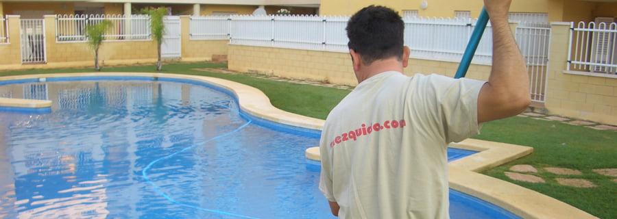 Mantenimiento piscinas Mezquida Denia