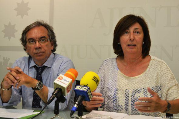 Miguel Llobell y Pepa Font - GDCU