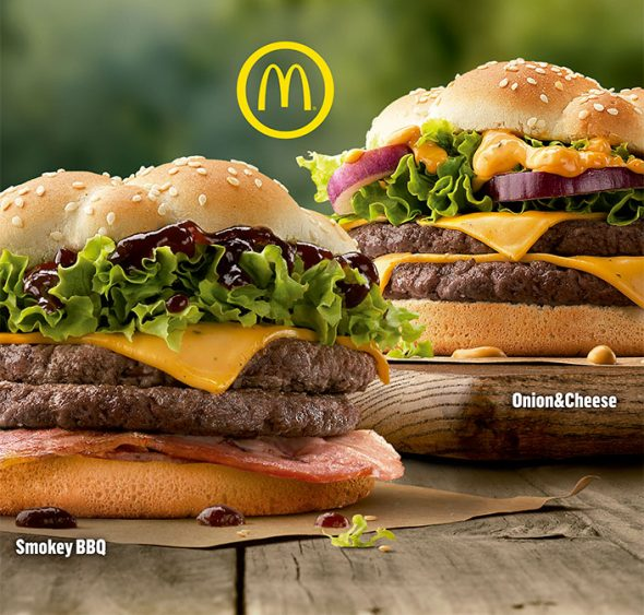 Nuevas hamburguesas Mcdonald's