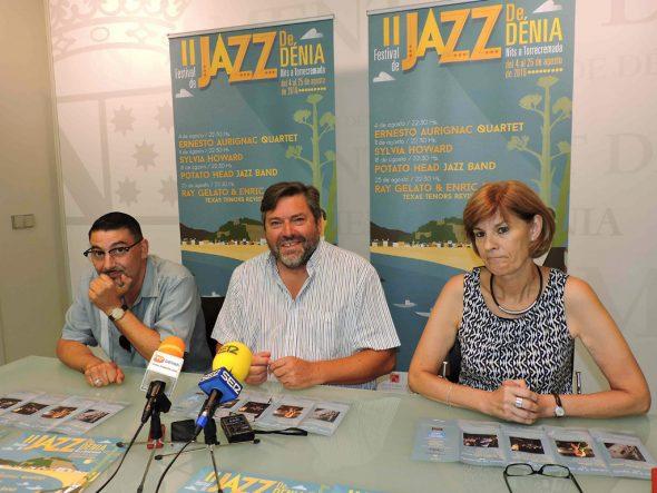 Presentación del festival de jazz de dénia