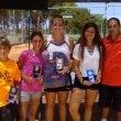 Tenistas del CT Dénia en el Club Tenis Las Vegas