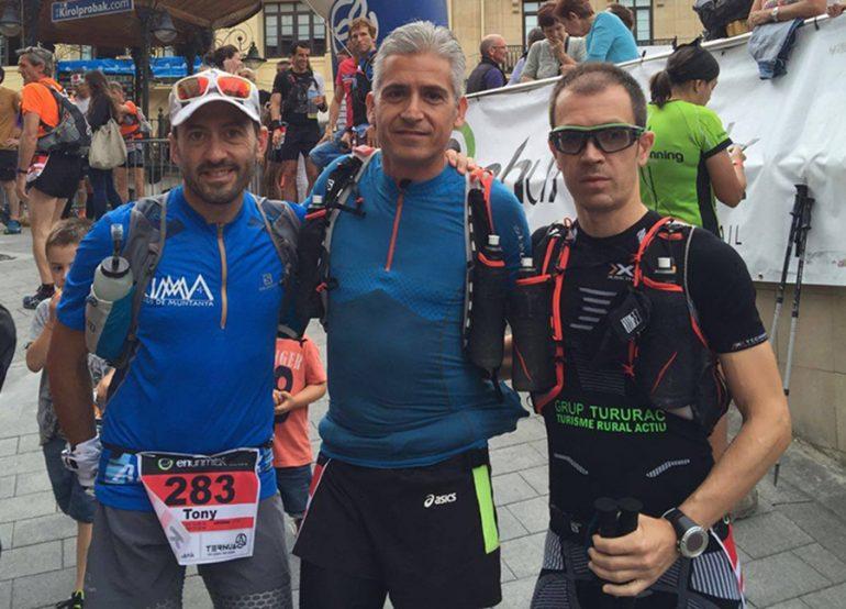 Tony Herrera, Marco Di Trana y Ricard Pérez