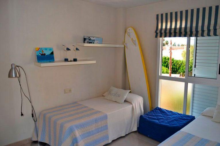 Un dels dormitoris Euroholding