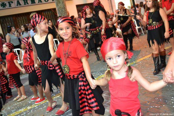 Desfile Infantil Dénia 2016 - Filà Piratas Berberiscas
