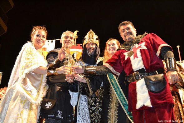 Retreta Moros y Cristianos 2016 - Brindis
