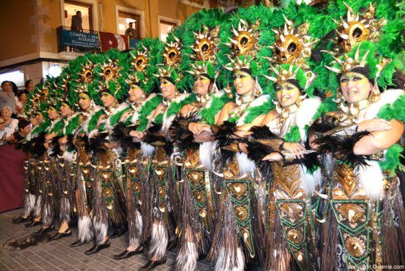 Desfile de Gala Moros y Cristianos Dénia 2016 - Filà Alkamar