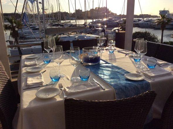 Atardecer Restaurante Agua de Mar
