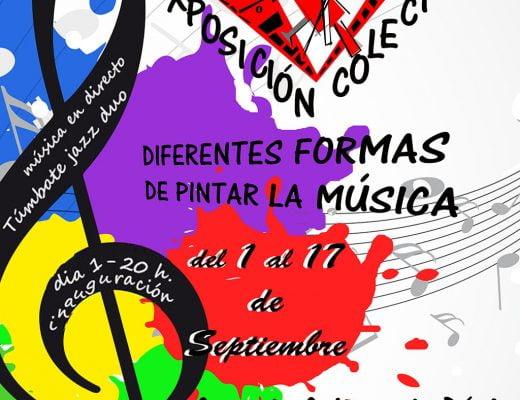 Cartel exposición ADAMA septiembre