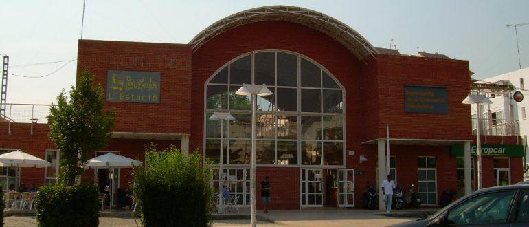 Estación de tren de Dénia