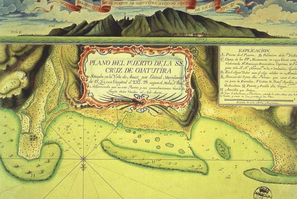 Navegantes españoles en el pacífico