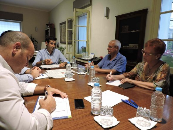 Reunión en Dénia con FGV