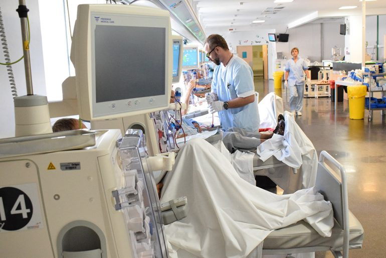 Hemodialyse-eenheid van het Dénia-ziekenhuis