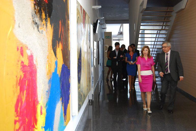 CuidArt посещение больницы Дения комнаты во втором издании Конгресса искусств и здравоохранения