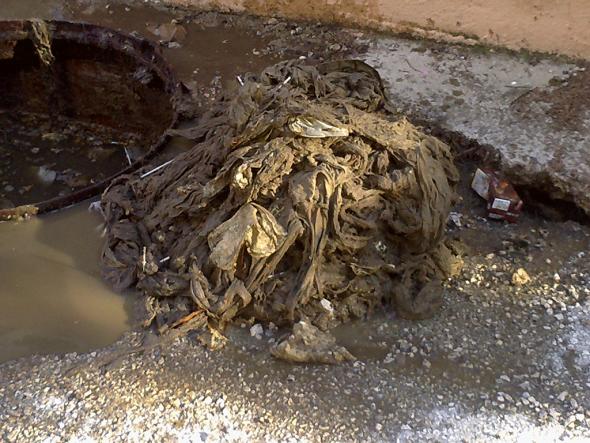 basura que tiramos por el wc Gesdenia