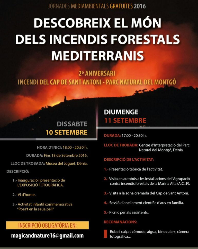 Poster Fire Prevention Conference