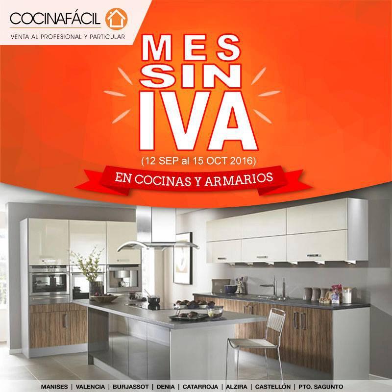 Cocinas y armarios sin iva cocina f cil d for Cocinas y armarios