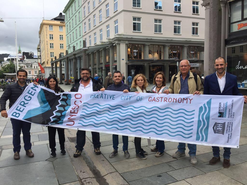 Delegación de la Marina Alta a la Feria de Alimentación y Gastronómica Bergen MatFestival_Bergen