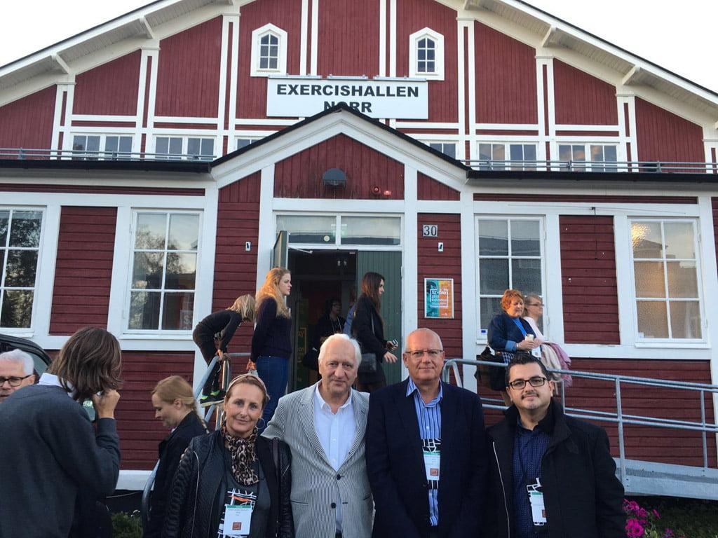 Delegación dianense con urbanista Charles Landry_Encuentro Östersund