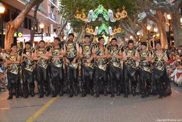 Desfile de gala de Moros y Cristianos Dénia 2016