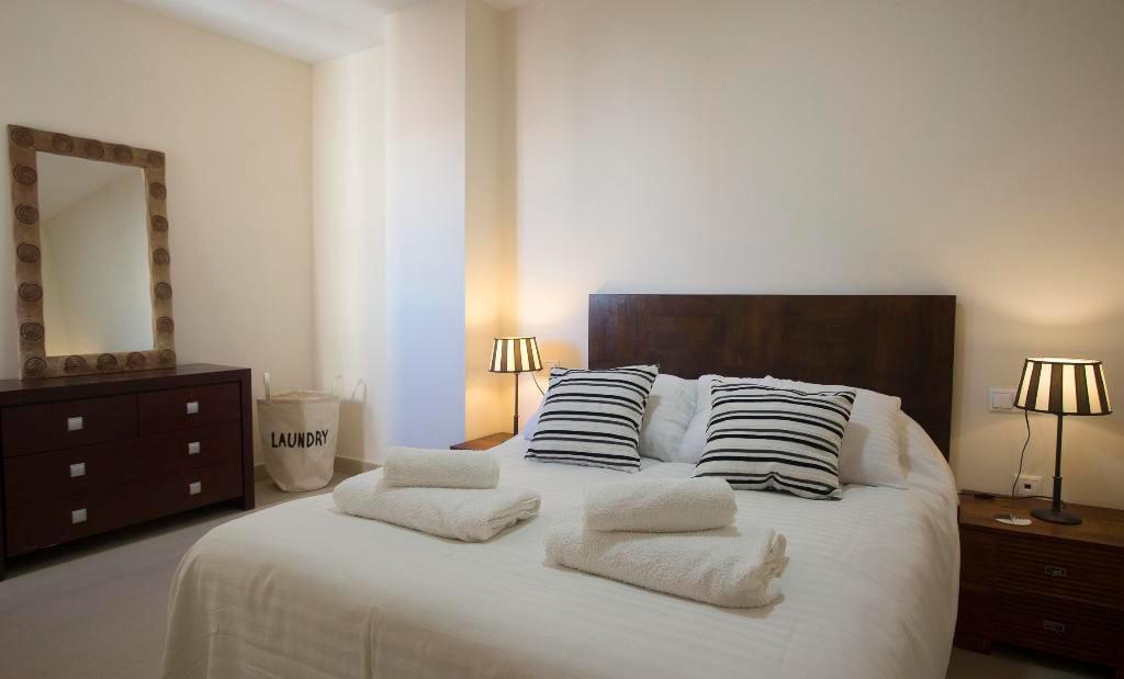 Dormitori principal de l'àtic Quality Rent a Vila