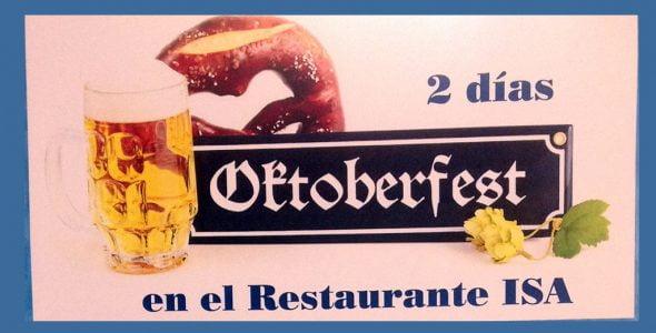 Fiesta Oktoberfest en Restaurante Isa