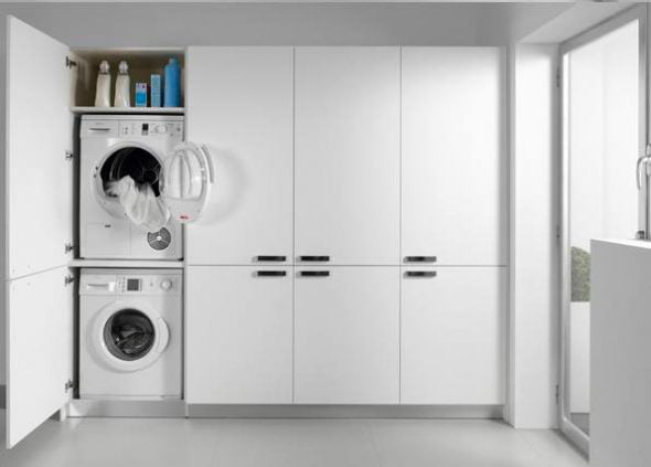 Washer hidden carpentry Fusta