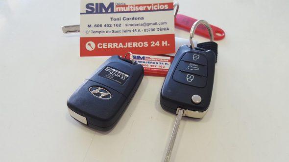 Comandament nou per a un Hyundai IX20 de SIM