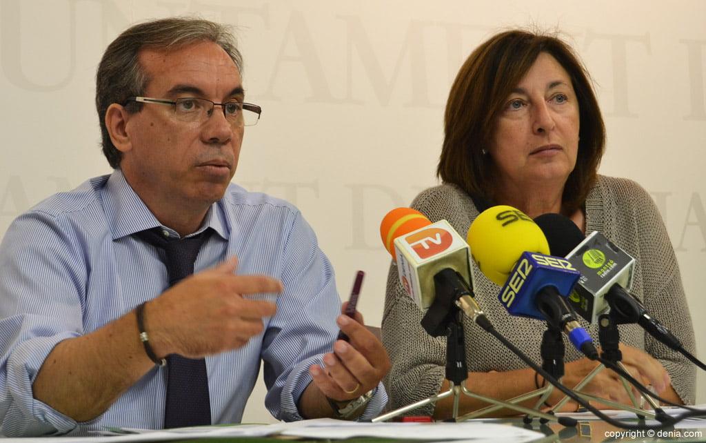 Miguel Llobell y Pepa Font - Gent de Dénia Centre Unificat