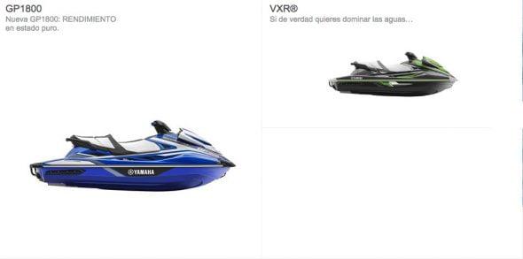 Nuevas motos de agua 2017 Deportivas Yamaha
