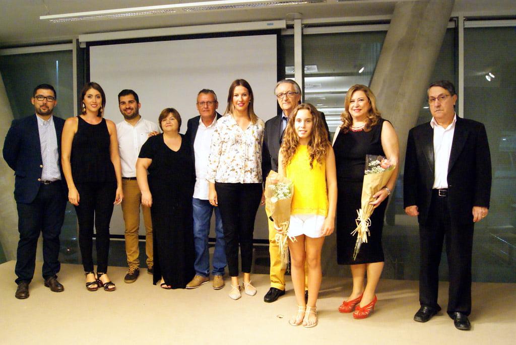 Organizadores del homenaje a Manuel Marco