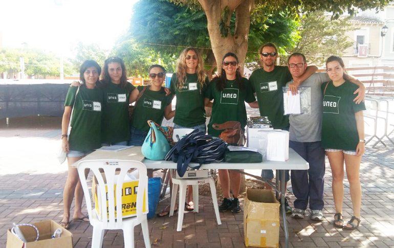 organisateurs du personnel UNED Dénia gimkana à Beniarbeig