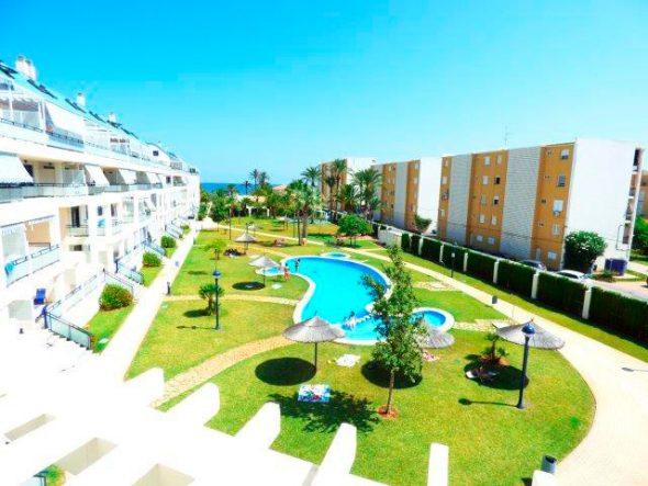 Piscina comunitaria Apartamento disponible en Afin