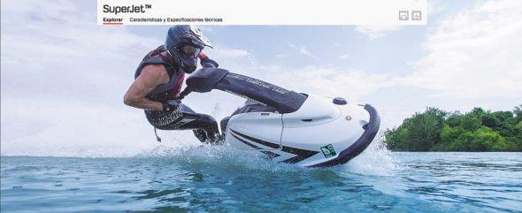 SuperJet alta competición de Yamaha en Fun & Quads