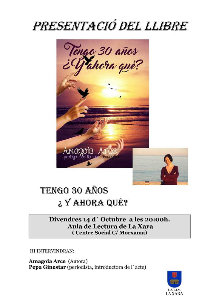Amagoia Arce presenta su libro en La Xara