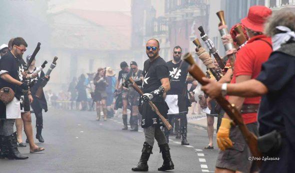 Batalla de arcabucería Dénia 2016