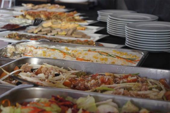 Buffe en Restaurante Voramar