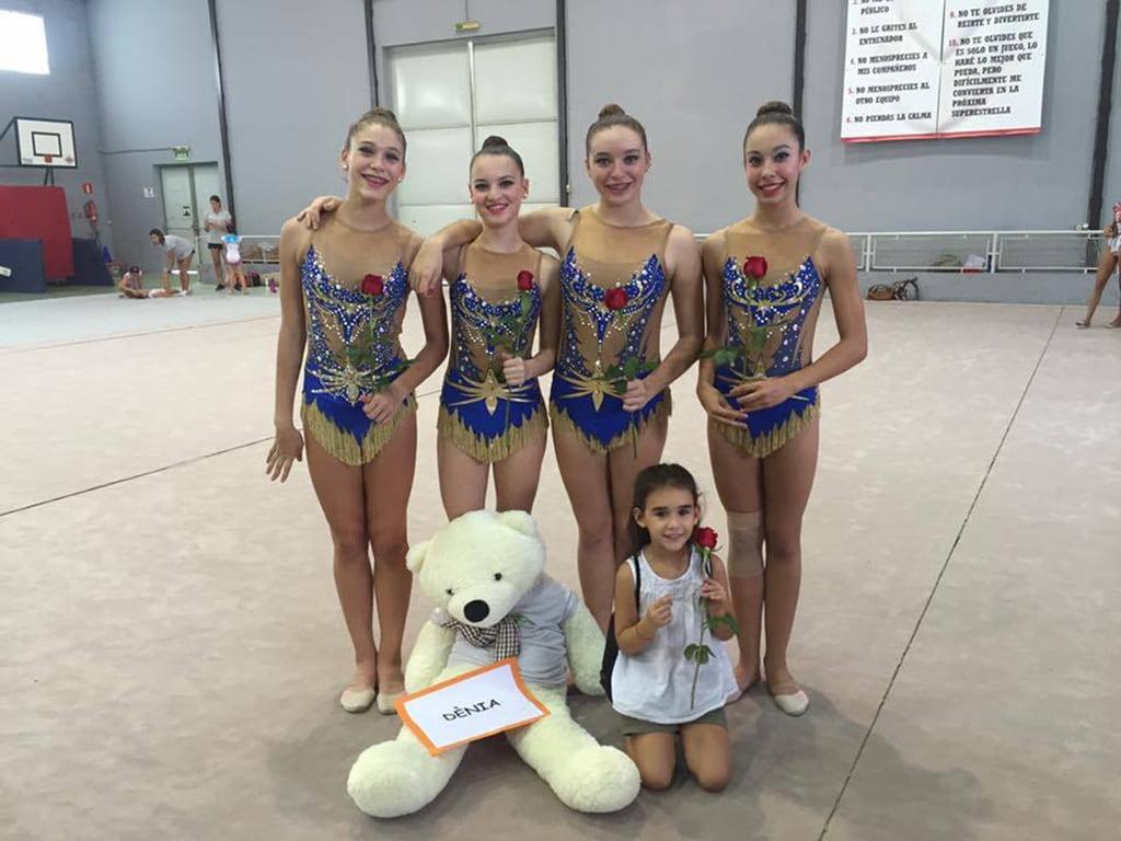 Gimnastes del CGR Dénia