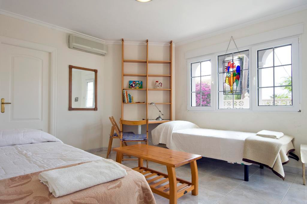 Habitació amb dos llits Quality Rent a Vila
