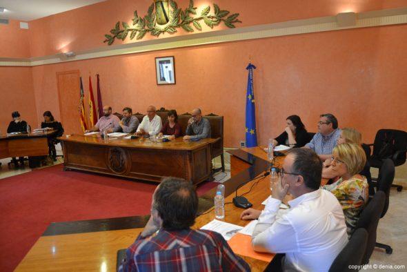 Pleno en el Ayuntamiento - Dénia