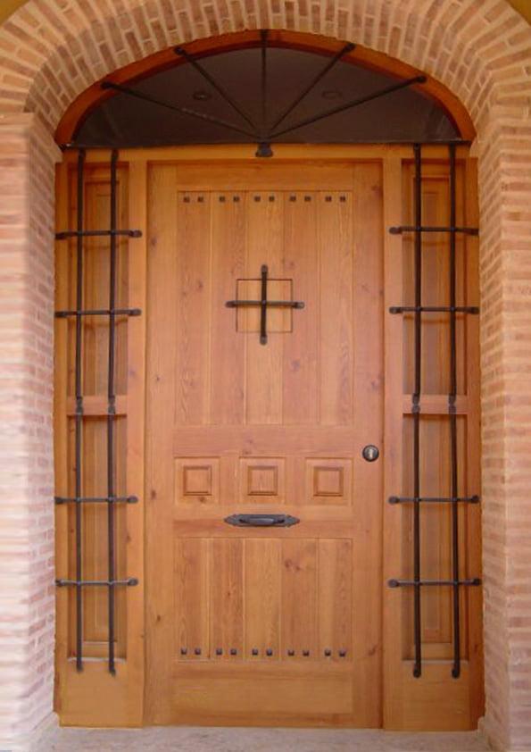 Gateway rustic carpentry Fusta