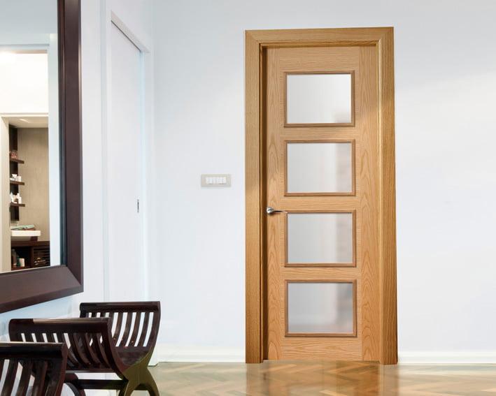 Interior carpentry wood door Fusta