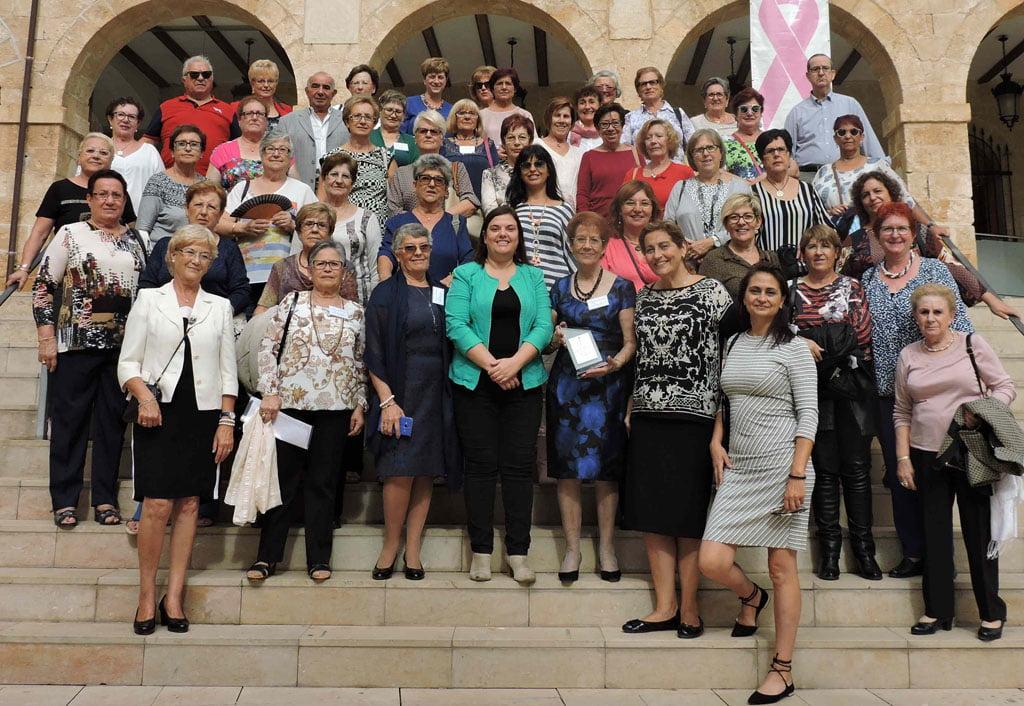 Recepción a las Amas de Casa en el Ayuntamiento de Dénia