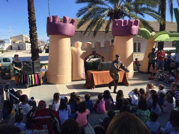 Teatro sobre Cervantes en Dénia